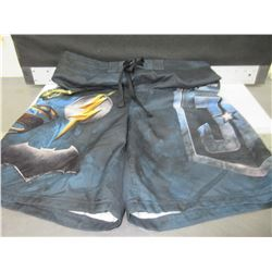 Men's Justice League Swim Trunks size Med