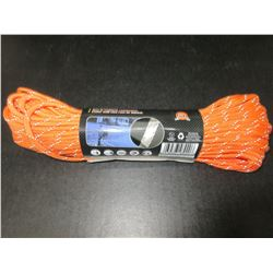 New 100 ft roll of 550lb Reflective 7 strand Paracord