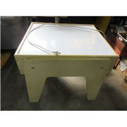 Lighted ART Table / lighted surface is excellent for tracing and more
