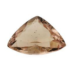 3.51 ct. Natural Trilliant Cut Morganite