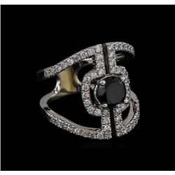 2.20 ctw Diamond Ring - 14KT White Gold