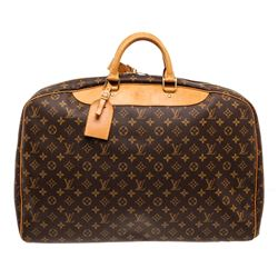 Louis Vuitton Monogram Canvas Leather Alize Lugagge