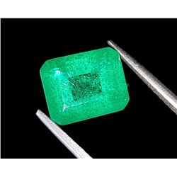 Natural Forest Green Emerald 8.35 Ct