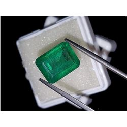 Natural Forest Green Emerald 8.00 Ct