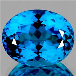 Natural Magnificent Swiss Blue Topaz 62.44 CT Certified