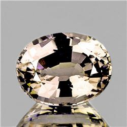 NATURAL CHAMPAGNE ZIRCON 8x6 MM - Untreated