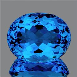 Natural Magnificent AAA Swiss Blue Topaz 44.90 Cts - FL