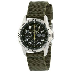 SEIKO Chronograph Military Watch