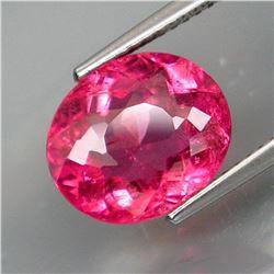 Natural Top Pink Tourmaline 4.36 Ct