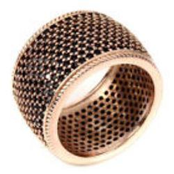 Natural Black Spinel Ring
