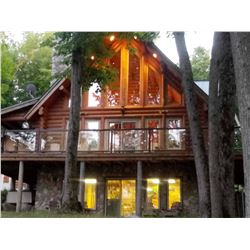LUXURY LIKE NEW LODGE ON 5 AC ON LAKE NOSBONSING, ASTORVILLE, ONT, CA/ NORTH BAY AREA