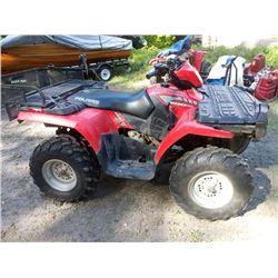 POLARIS SPORTSMAN 500 ATV, WITH REAR RACK / RUNS