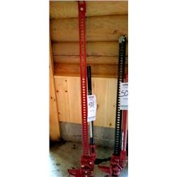LIKE NEW EXTENDED  HEAVY DUTY TRACTOR JACK