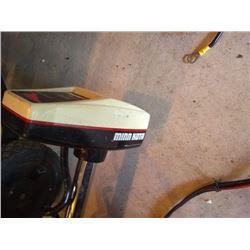 LIKE NEW MINN KOTA TROLLING MOTOR/ APPROX $700 USD NEW