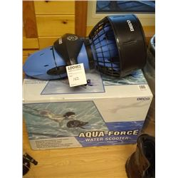 NEW AQUA FORCE WATER SCOOTER IN THE BOX