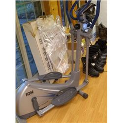 ION FITNESS (APPEARS NEW) ELLIPTICAL TRAINER