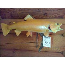 PALOMINO  ALBINO GAME FISH TAXIDERMY