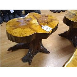 DRIFTWOOD / CYPRUS WOOD CRAFTED TABLE/ SEAT 1 OF 2