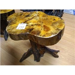 DRIFTWOOD / CYPRUS WOOD CRAFTED TABLE/ SEAT 20F 2