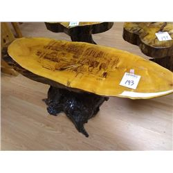 LARGE HAND CRAFTED MOOSE TABLE