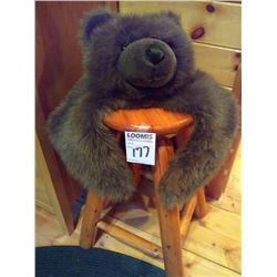 PLUSH BEAR CUB BED OR STOOL PLUSH