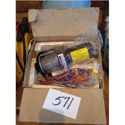 NEW  2000 LB UTILITY WINCH STILL IN THE BOX