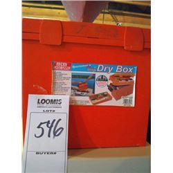 NEW DRY BOX SET w NEW EMERGENCY ITEMS