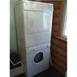 G.E. STACK ONE WASHER / DRYER