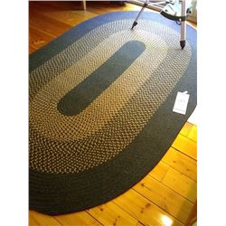 WOVEN OVAL LARGE  RUG