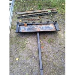 LOT: 2 X PULL TYPE DRAG ATTACHMENTS