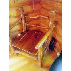 CUSTOM BUILT LODGE CAPTAIN'S CHAIR
