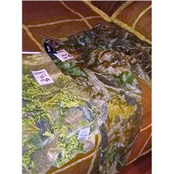 2 PAIR OF CAMO PANTS, NEW AND LIKE NEW