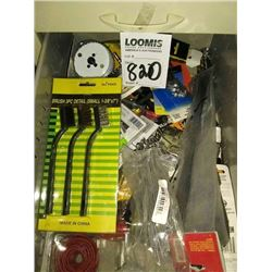 ASSTD LOT, INSIDE CABINET DRAWERS