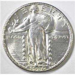 1930 STANDING LIBERTY QUARTER CH BU
