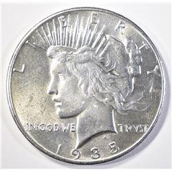 1935 PEACE DOLLAR CH/GEM BU
