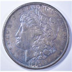 1889 MORGAN DOLLAR  CH UNC  TONED