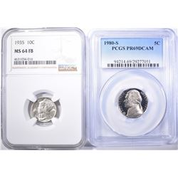 GRADED COLLECTOR COINS: