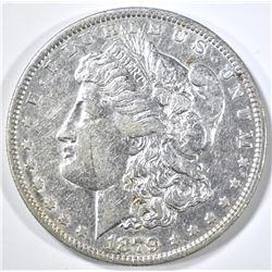 1879-O MORGAN DOLLAR, CH AU