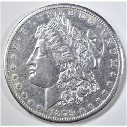 1879-CC MORGAN DOLLAR  AU