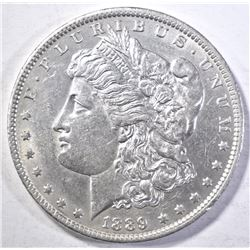 1889-O MORGAN DOLLAR  AU/BU