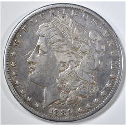 1889-CC  MORGAN DOLLAR  VF/XF