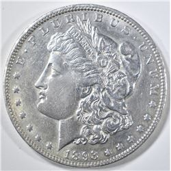 1893-O MORGAN DOLLAR  AU/BU