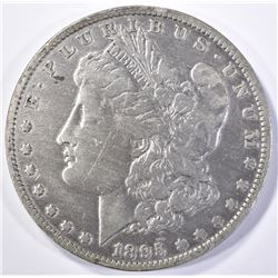 1895-O MORGAN DOLLAR  FINE  CLEANED