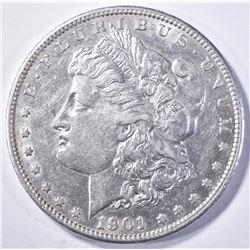 1901-S MORGAN DOLLAR  CH AU