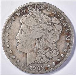 1903-S MORGAN DOLLAR   F