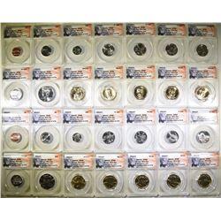 2014-P & D 28-COIN MINT SET  ANACS SP-68