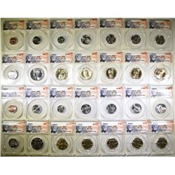 2014-P & D 28-COIN MINT SET  ANACS SP-68