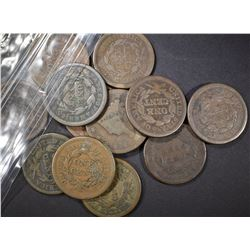 (12) AVE CIRC LARGE CENTS