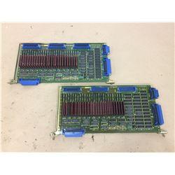 (2) Fanuc A16B-1211-0300 Circuit Board
