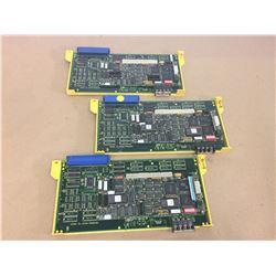 (3) Fanuc A16B-2200-0310 Circuit Boards